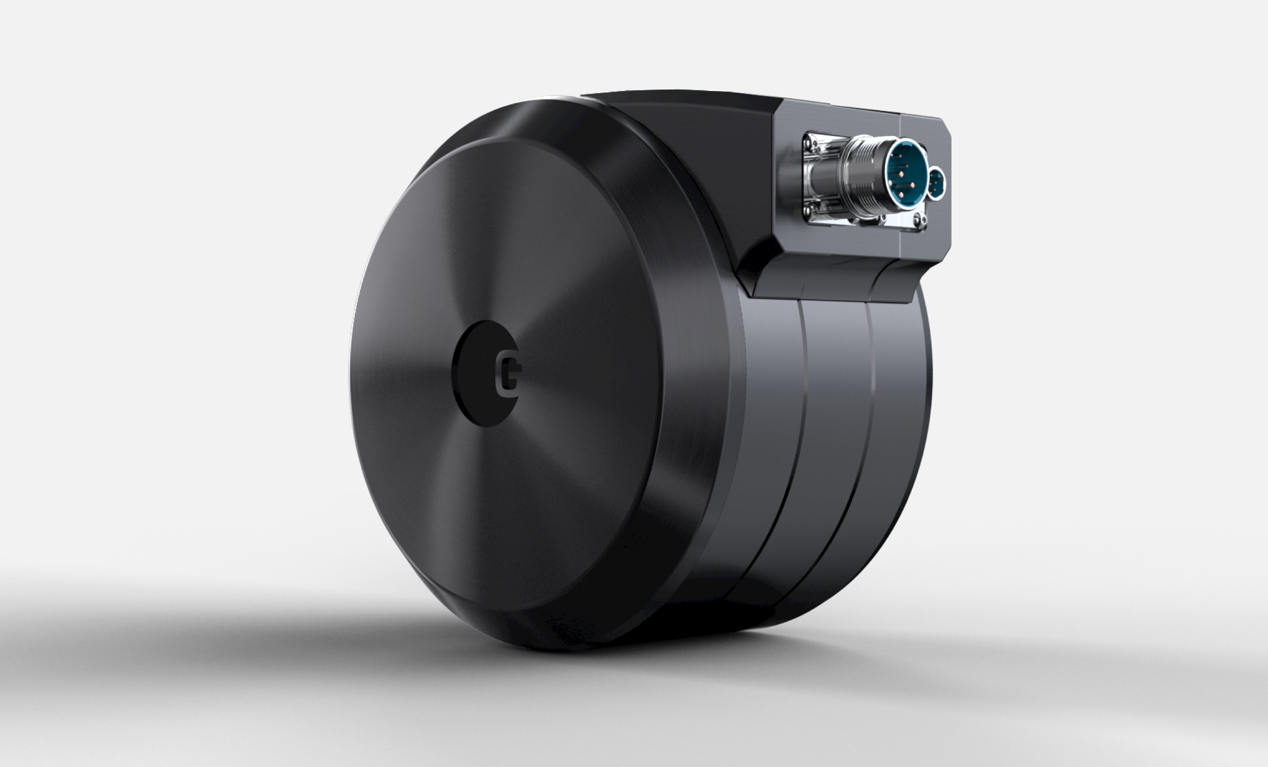 Angled view of the LiveDrive Direct Drive 184B Actuator